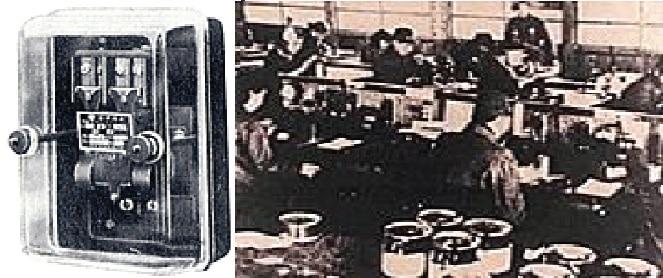 Hình 1: Mẫu rơ le dòng MR và xưởng sản xuất Nozato